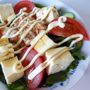 ☆野菜たっぷり♪ 豆腐とツナのサラダ☆