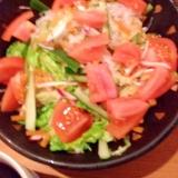 蒟蒻麺でヤムウンセン
