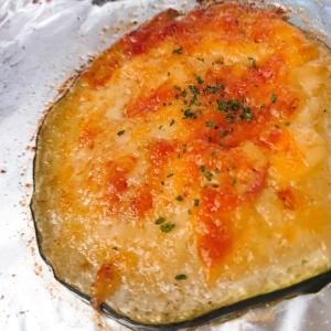 ズッキーニの簡単☆ベーコンチーズ焼き