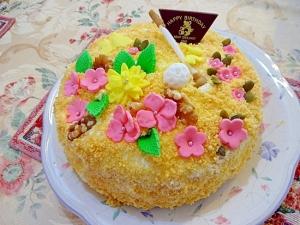 ドゥーブルフロマージュ風ニューヨークチーズケーキ
