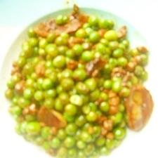 豌豆とハムの炒めもの