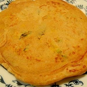 大豆粉で南瓜パンケーキ