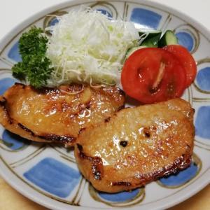 簡単 ! 豚肉の味噌漬け焼き