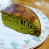 ☆炊飯器で簡単抹茶ケーキ
