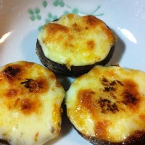 トースターで楽チン♪椎茸チーズ焼き