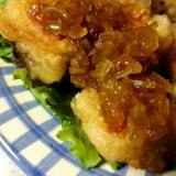 揚げずにヘルシー❀焼き油淋鶏(ユーリンチー)
