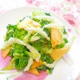 ❤白菜と柿の和風サラダ❤