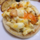 パン屋の味!半熟卵のオープンサンド・サンドイッチ