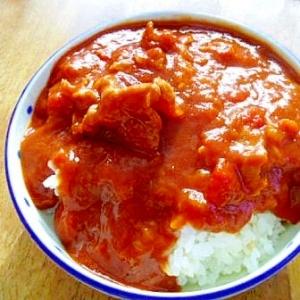豚肉・玉ねぎ・トマト缶で ハッシュドポーク♪