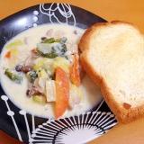 たっぷり野菜のクリーム煮(/・ω・)/
