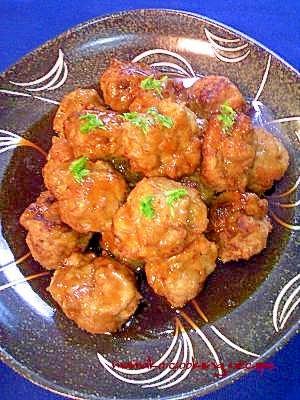 肉団子の甘酢あんかけ♡お味はいろいろカメレオン♡