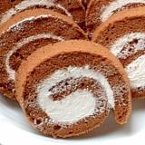 シフォンロールケーキ