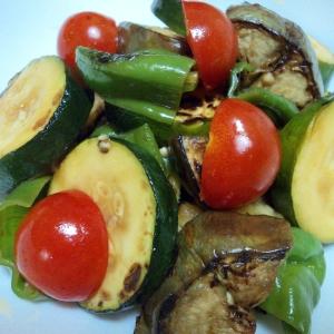 冷たく冷やして 夏野菜の和風マリネ