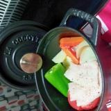 ★お野菜が甘くなる!たっぷり野菜のストウブ蒸し★