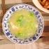 キャベツと卵の中華スープ