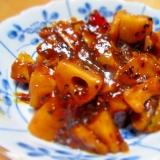 さつま芋と蓮根の照り煮