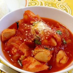 鶏むね肉のトマト煮