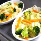 キャベツの温野菜サラダ