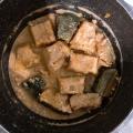食べる美容液、カボチャのクルミ味噌煮