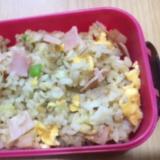 ハム卵ネギの生姜炒飯