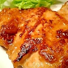 とってもジューシー鶏むね肉のハチミツ焼き♪