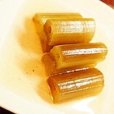 出汁いらず、昆布茶で蕗の薄煮