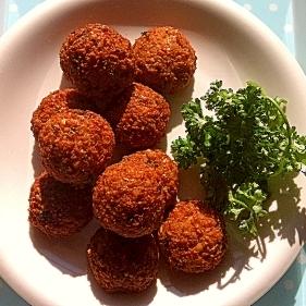 ☆アラブの味!ひよこ豆のスナック・ファラーフェル☆