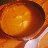 タラと野菜のスープカレー
