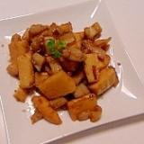 筍と蓮根のごま・バルサミコ ソテー