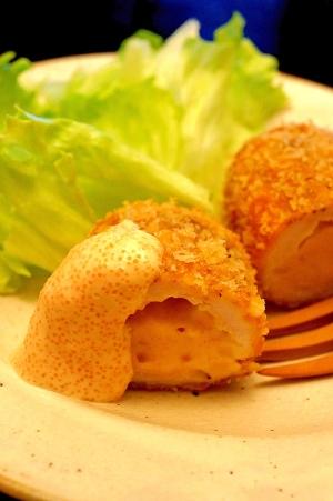 【お手伝いレシピ】ササミのたらこクリームコロッケ
