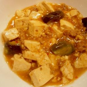 ナス入りマーボー豆腐