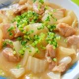 白菜と大根鶏肉のトロトロ味噌煮