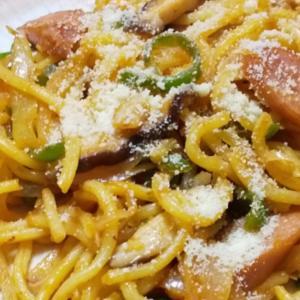 ナポリタン風スパゲティ