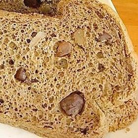 くるみと黒糖の米粉シフォンケーキ