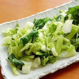 減塩!?柚子の絞り汁で❤小松菜と白菜の一夜漬け♪