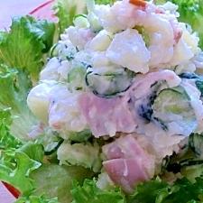 ジャガイモ料理(1)ポテトサラダ・・・塩麹を使って