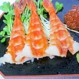 寿司の定番☆ 甘酢でしっとり「蒸しエビ」