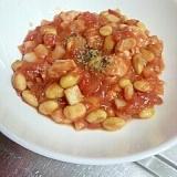 鳥のささみのトマトソース煮込み、ポリ袋を使って♪