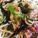 ダイコン海藻サラダ ポン酢かけ