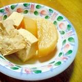 三浦大根と木綿豆腐の煮物