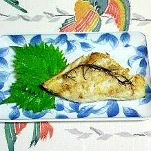 香りで楽しむ、真鱈のローズマリー・グリル焼き~♥