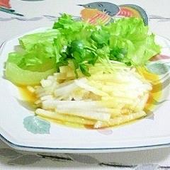 長芋の卵ドレッシングサラダ♪