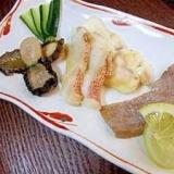 お寿司の三段活用♪「ネタのあぶり(塩焼き)」