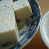 絹豆腐がしっかり塩豆腐