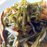 切り昆布の炒め煮(クーブイリチー)