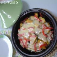 タジン鍋で簡単にとろけちゃいます(*´∇`*)