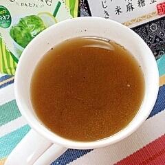 ホッと☆抹茶&檸檬のきなこほうじ茶♪