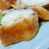 椎茸とカマンベールチーズの豚バラ肉巻き 甘辛煮