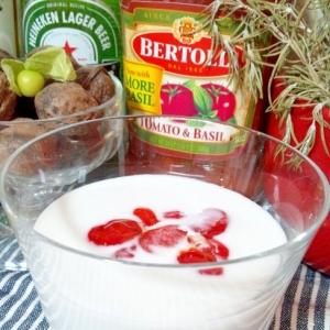 低糖質・ゴーヤの種とココナッツミルクのデザート☆
