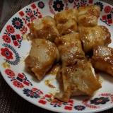 簡単!豆腐の豚肉巻き田楽風
